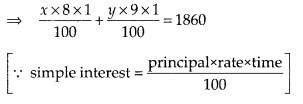NCERT Exemplar Class 10 Maths Chapter 3 Pair of Linear Equations in Two Variables 3.4 Q12