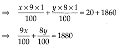 NCERT Exemplar Class 10 Maths Chapter 3 Pair of Linear Equations in Two Variables 3.4 Q12a
