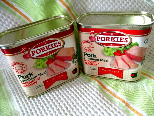 Porkies luncheon meat