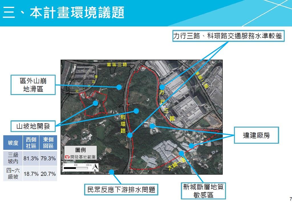 竹科寶山用地擴建案涉及多項環境議題。圖片來源:環評書件