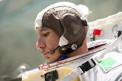 Luca Parmitano training at NASA's Johnson Space Center