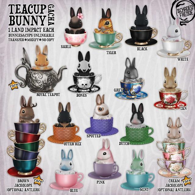 teacup bunny key