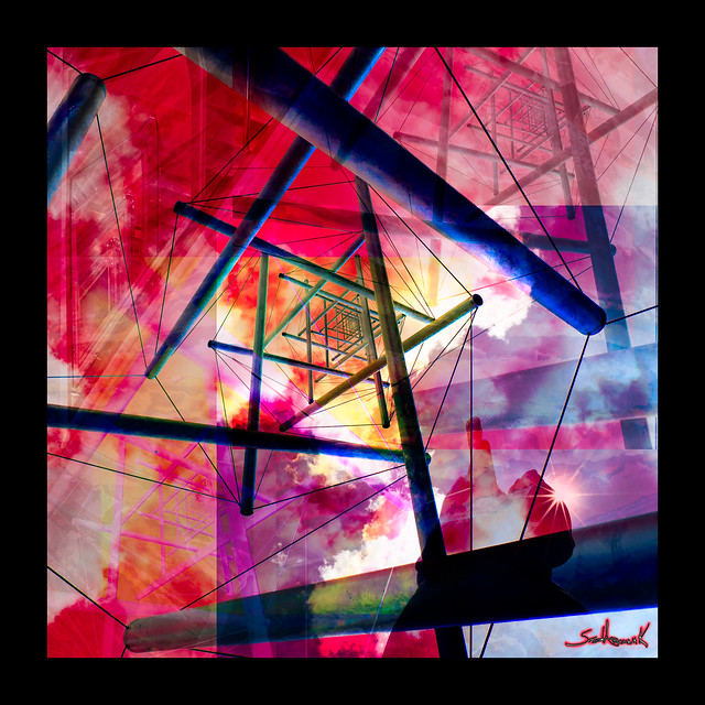 Tensegrity - Art on Planet Claire