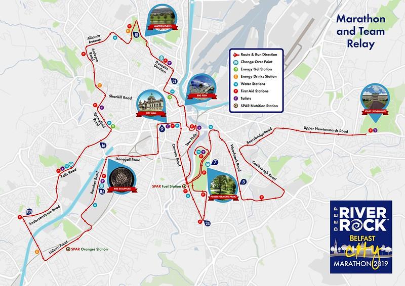 2019 Marathon Map