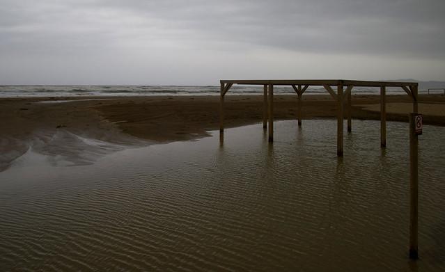 El mar recupera territori a l'Estartit