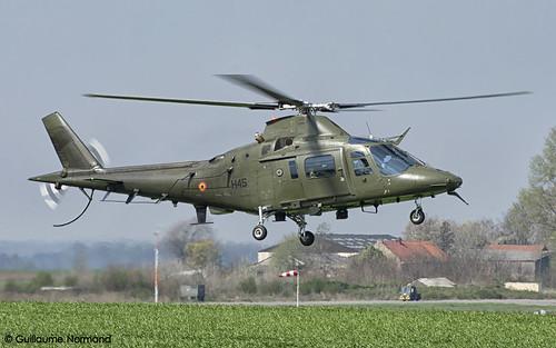 Agusta A109 Belgian Air Force H45