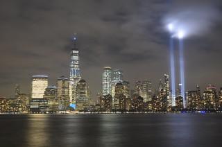 9/11 Tribute In Light