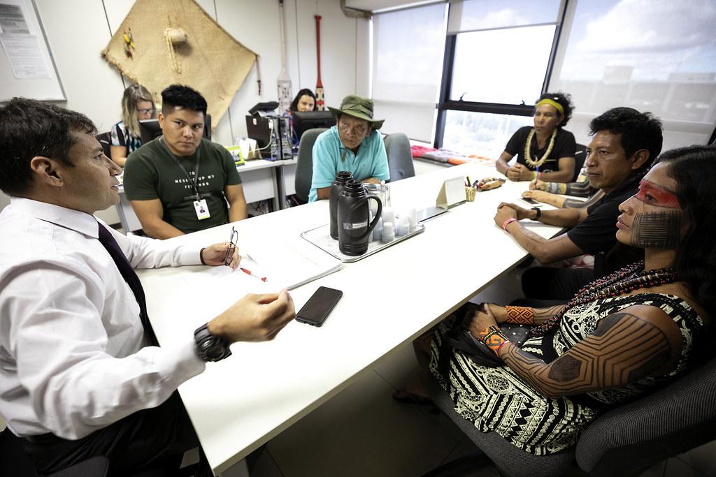 Reunião com Lideranças Indígenas Kaiabi