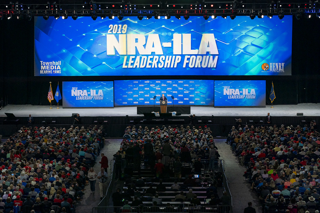 President Trump Delivers Remarks at the NRA Annual Meeting
