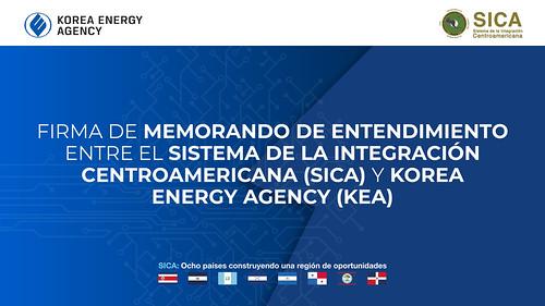 Firma Memorando de Entendimiento entre SGSICA - Agencia Coreana de Energía (KEA)