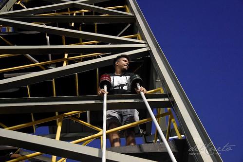 Mangueira 190309 337 Torre sinaleira da Mangueira no alto