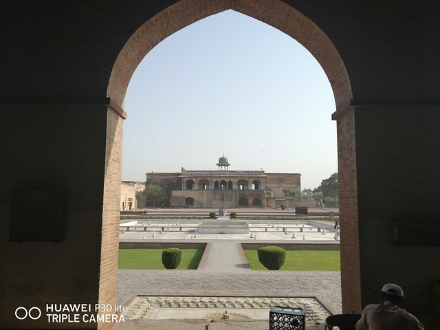 Lahore Fort Picture with Auto Mode on Huawei P30 Lite