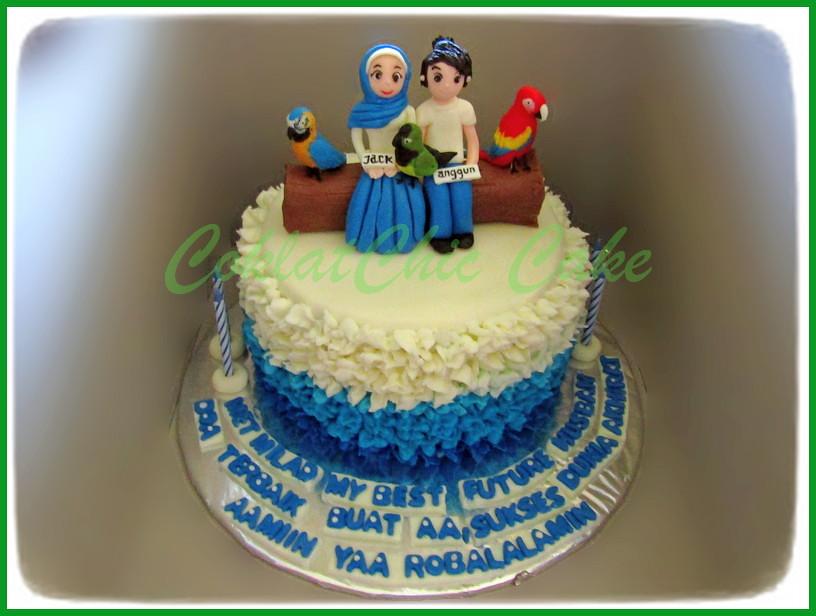 Cake Couple 18 cm