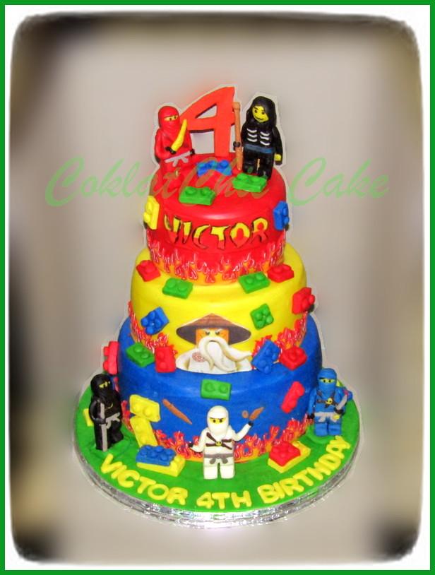 Cake Ninjago VICTOR 18/15/12