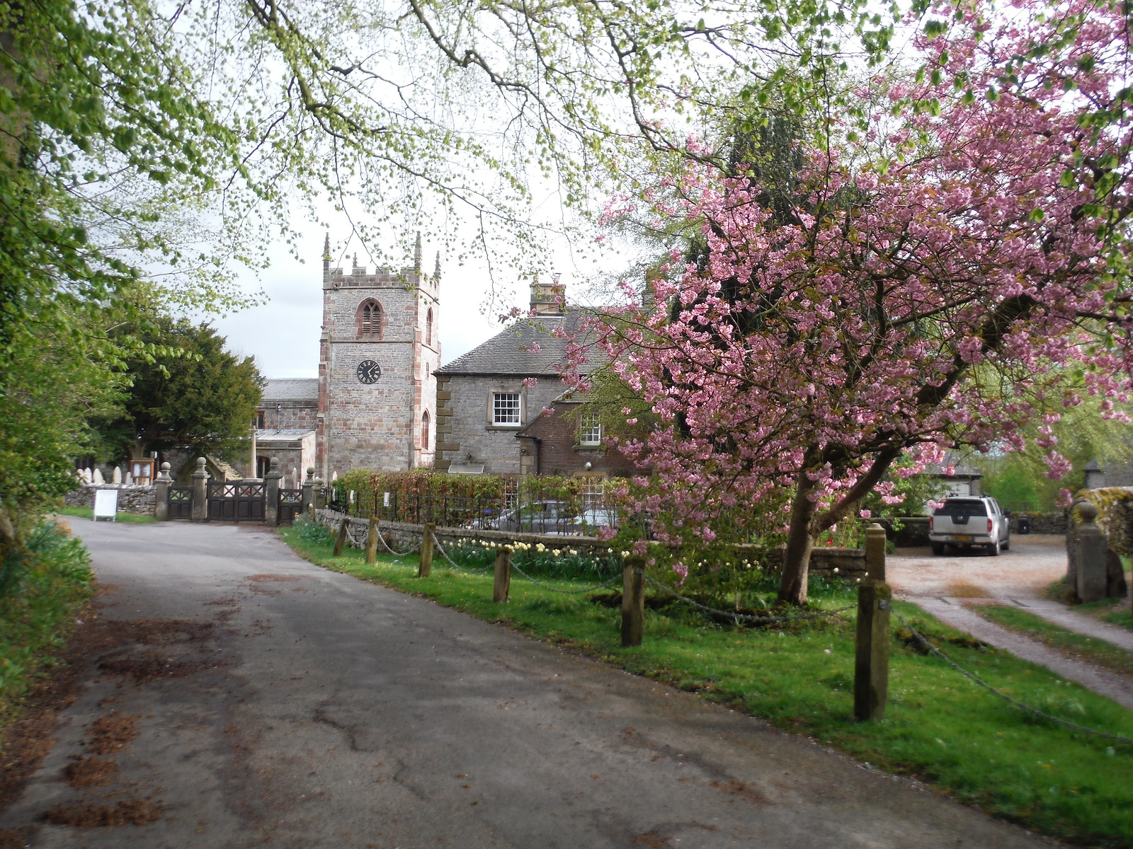 St. Peter's Church, Alstonefield SWC Walk 326 - Dovedale (Ashbourne Circular) [Long Version via Alstonefield]