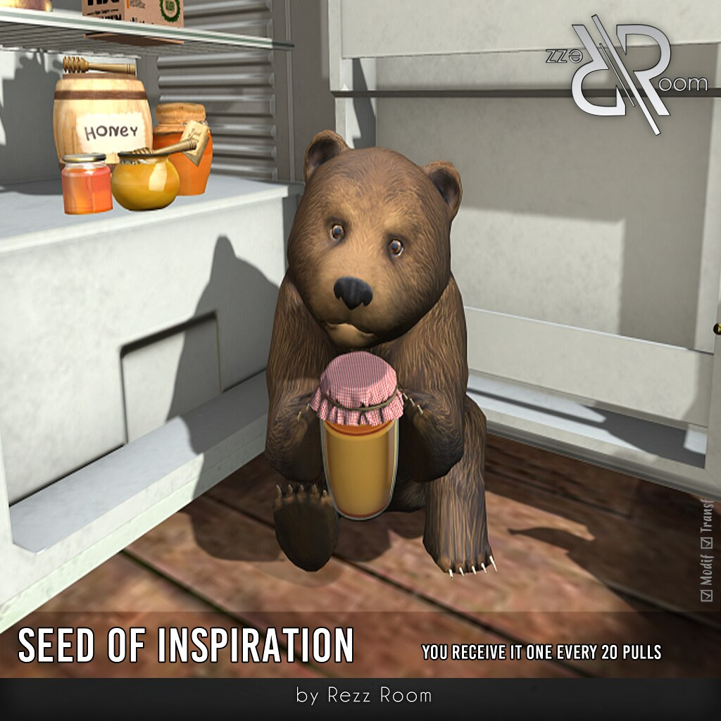 Seed of Inspiration Baby Bear