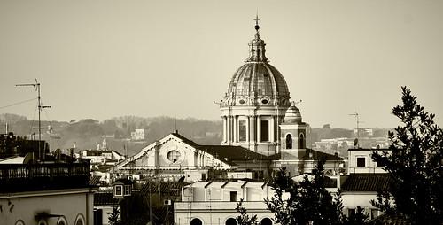 Golden Rome morning 2