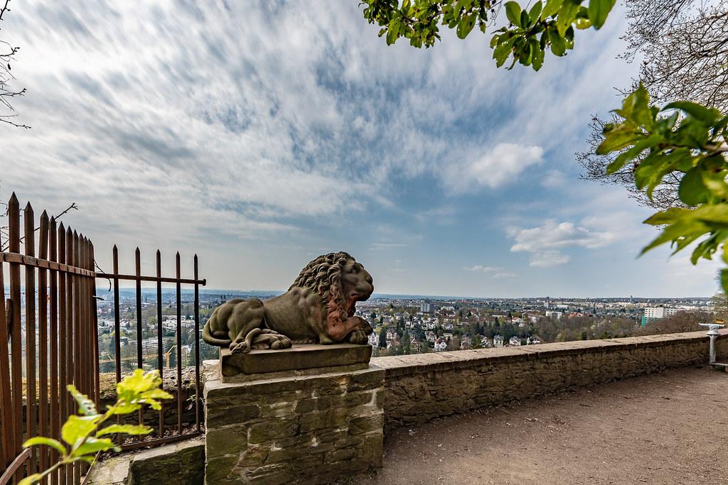 Blick vom Neroberg auf Wiesbaden