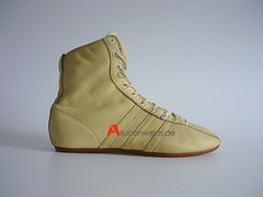 VINTAGE ADIDAS BOXER LEMON BOXING BOOTS / SPORT SHOES / HI TOPS