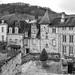 Vue de Terrasson-Lavilledieu. by Les monochromes de Marie