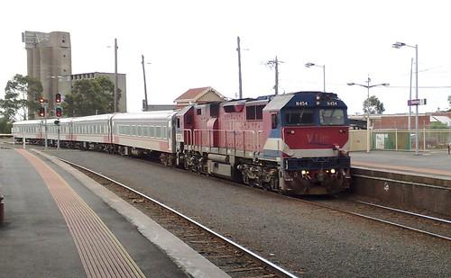 Geelong station, April 2009