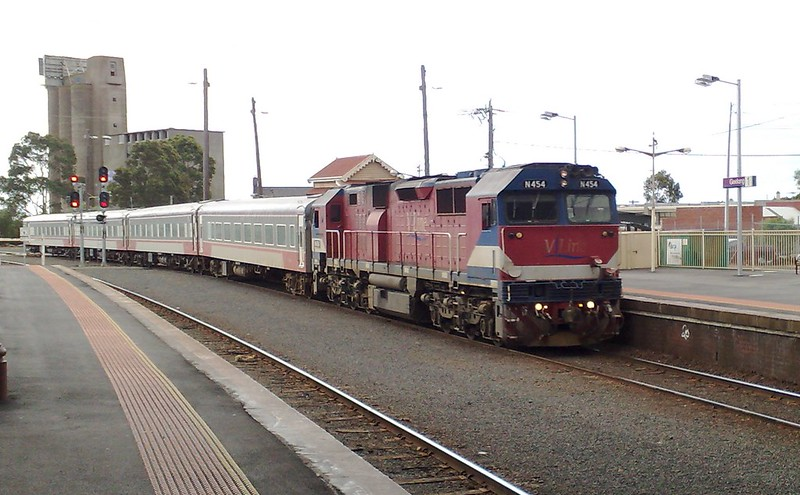 Geelong station, April 2009