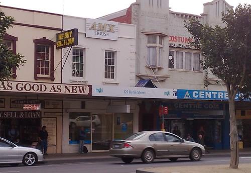 Myki shop in Geelong, April 2009