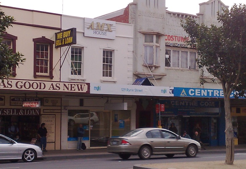 Myki shop in Geelong, April 2009