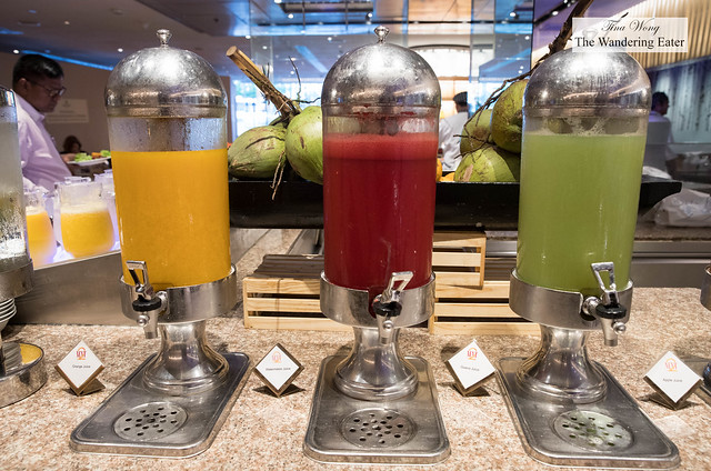 Fruit juices at Next2 Cafe