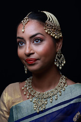 Kundan Jewellery Photo Shoot. Model: Rajni