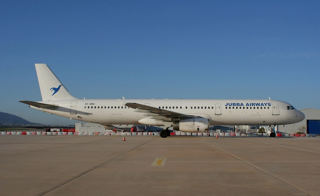 JUBBA AIRWAYS 321-200 SX-ABQ(cn1060)