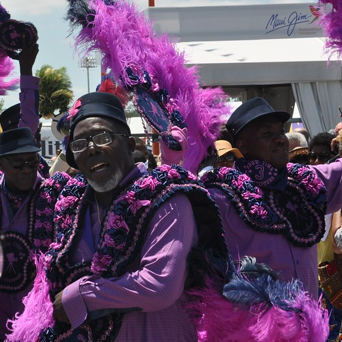 Show Time Steppers - Young Men Olympian second line at Jazz Fest 2019