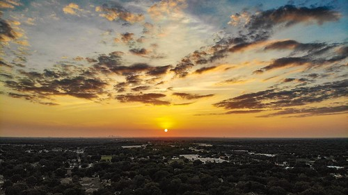 unitedstatesofamerica unitedstates suburbs suburban city clouds skyporn sky sun brandon tampabay tampa valrico florida sunset drone mavicair dji