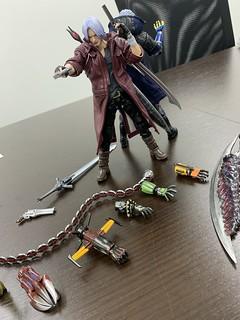 千值練《惡魔獵人5》但丁、尼祿1/12比例可動人偶(ダンテ、ネロ 1/12可動フィギュア)上色原型公開!