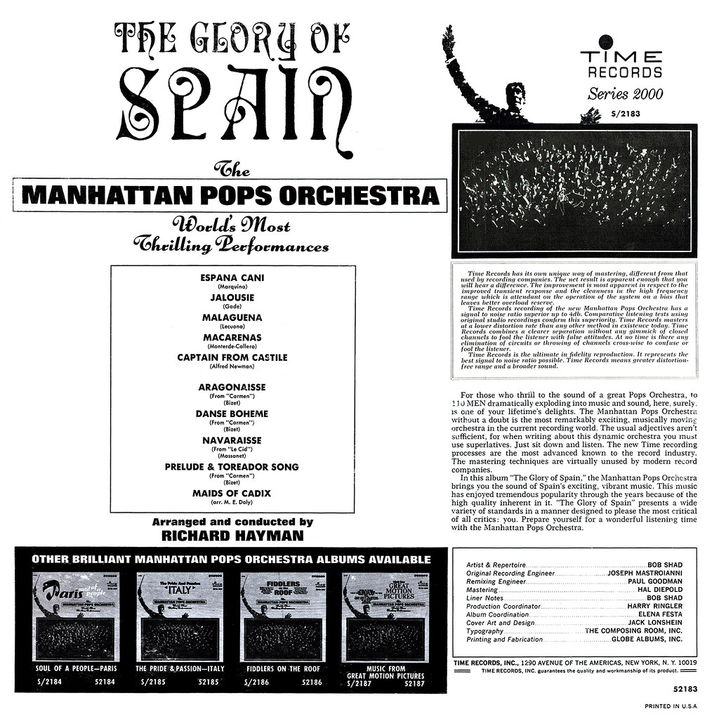 Manhattan Pops Orchestra - The Glory of Spain b