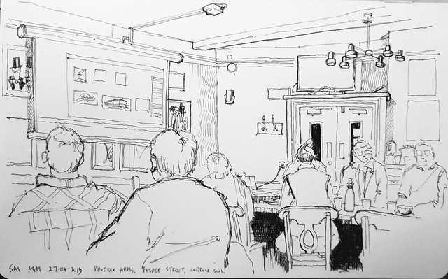 AGM of the SAI, Phoenix Arms, Westminster, London