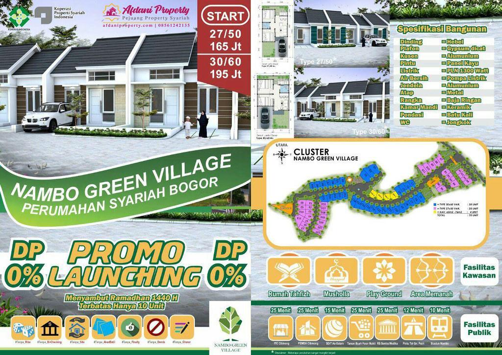 Brosur Nambo Green Village