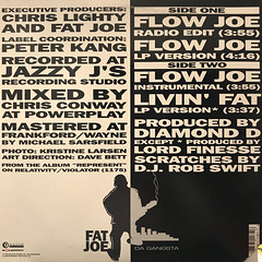 FAT JOE:FLOW JOE(JACKET B)