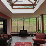 Lantern Roof Hardwood Double glazed