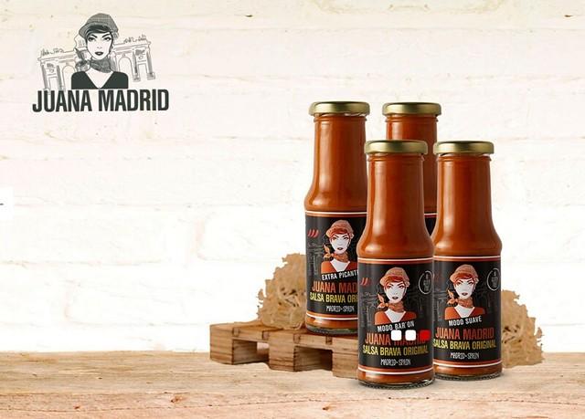 Juana Madrid salsa brava 3 grados de picante