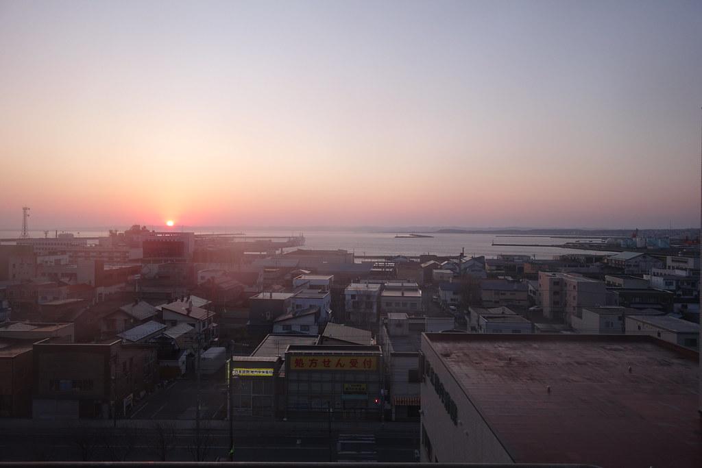 The last sunrise in Heisei era.