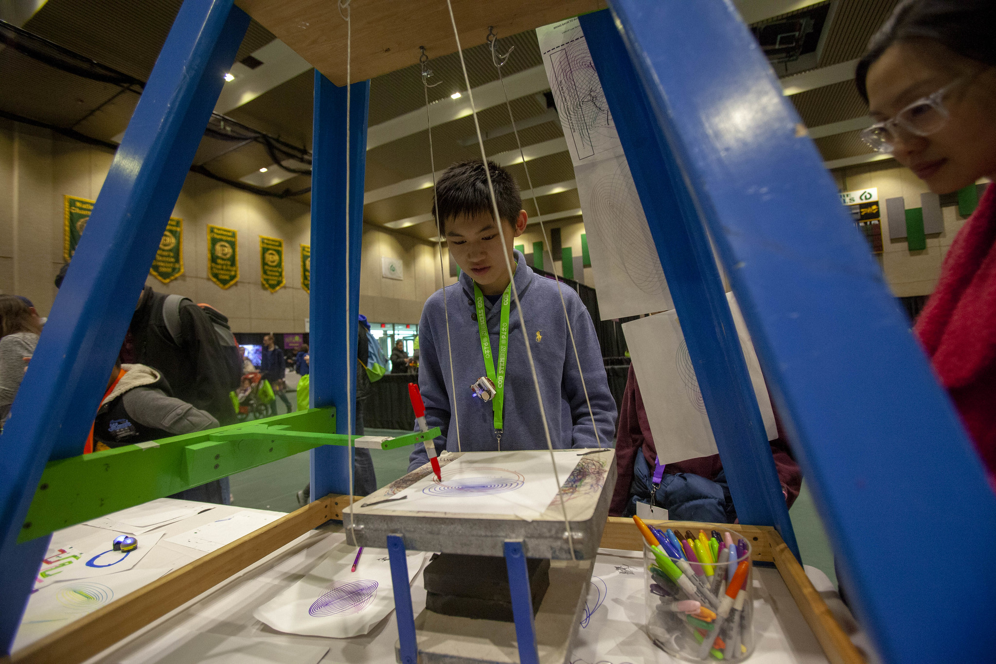 Fourth Annual STEMCON Draws Crowds to College of DuPage 100