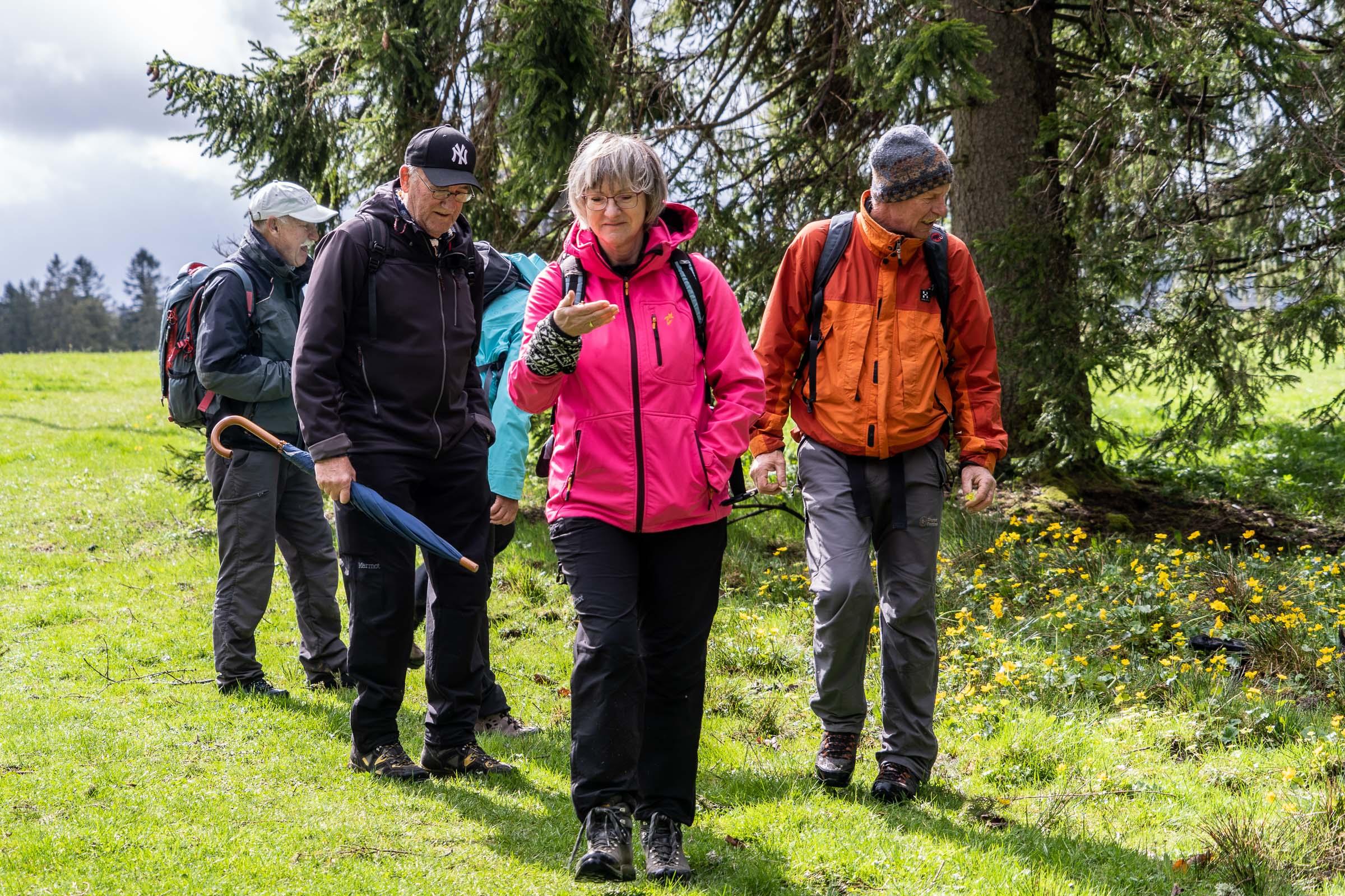 Wanderung Etang de la Gruère 27.04.2019