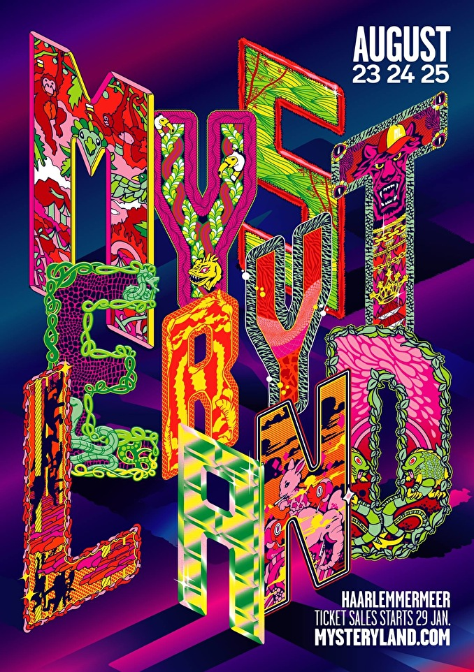 cyberfactory 2019 mysteryland festival haarlemmermeer nederland