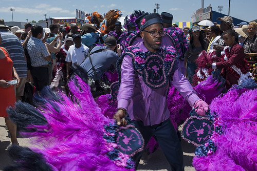 Big Steppers SA & PC during Jazz Fest day 4 on April 28, 2019. Photo by Ryan Hodgson-Rigsbee