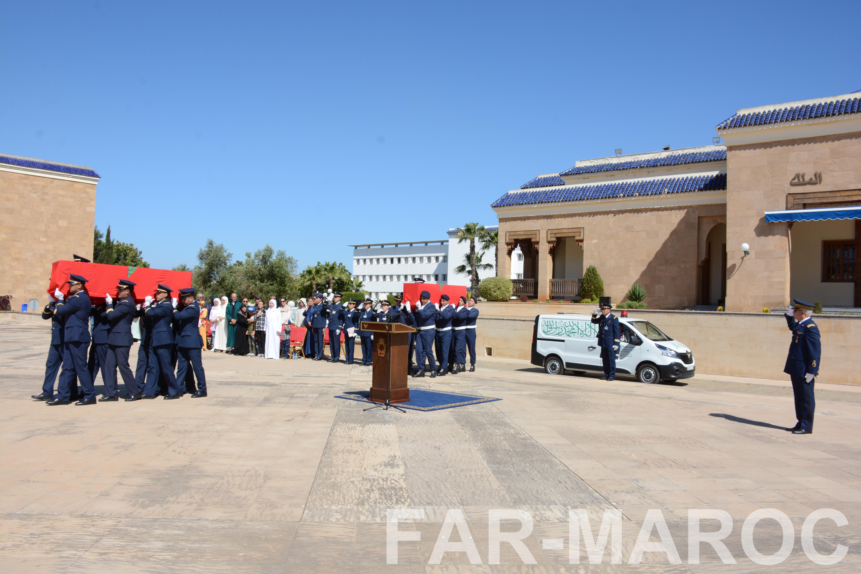 Funérailles de feu le lt colonel Najib El Hadrati et du A/C Hassan Tazi 40770716523_c5f4175766_o