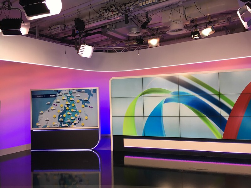Women in the News at Yle Studios
