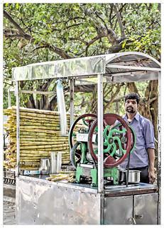 Beat the heat with sugarcane juice