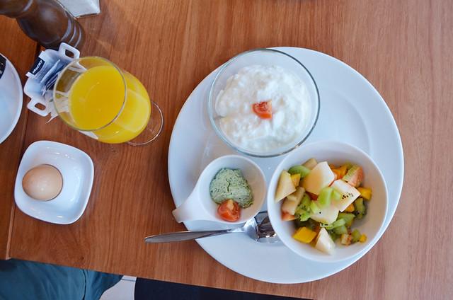 Breakfast at Benahoare, Los Llanos, La Palma