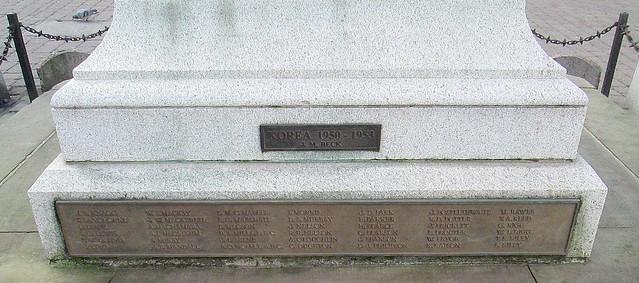 Kendal War Memorial Plaques